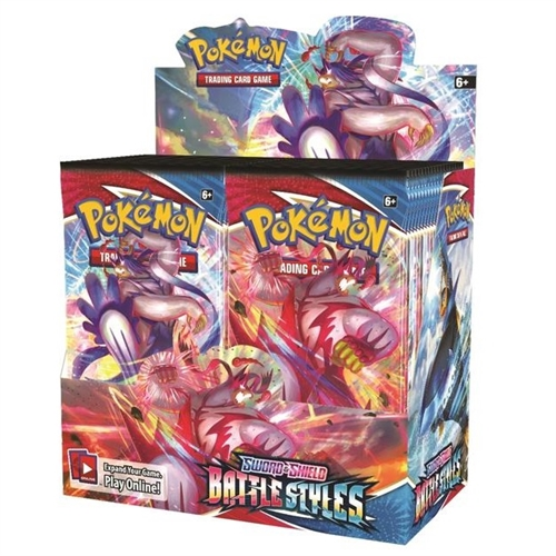 Pokemon Sword & Shield - Battle Styles - Booster Box Display (36 Booster Pakker) - Pokemon kort